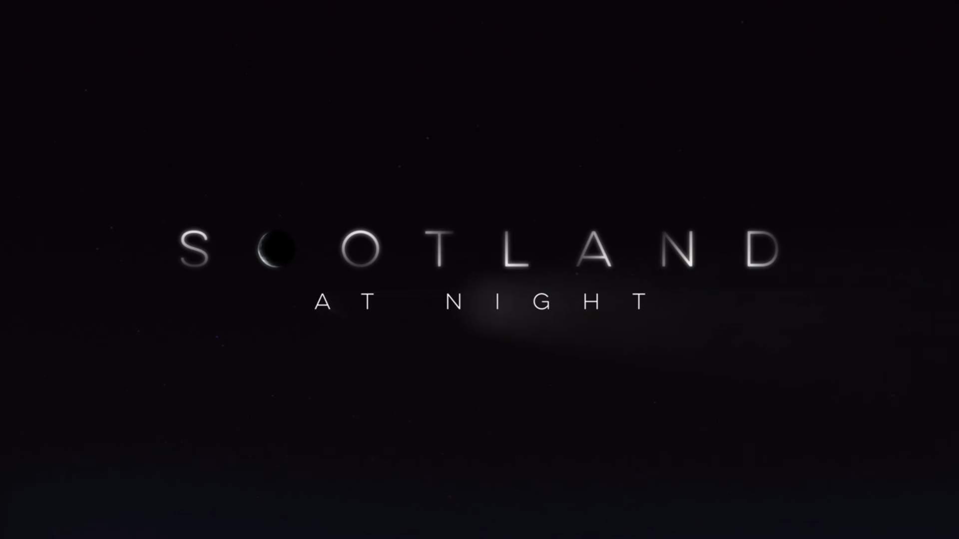 Hai mai pensato di visitare la Scozia di notte?